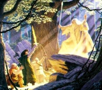 the lord of the rings�gandalf the white