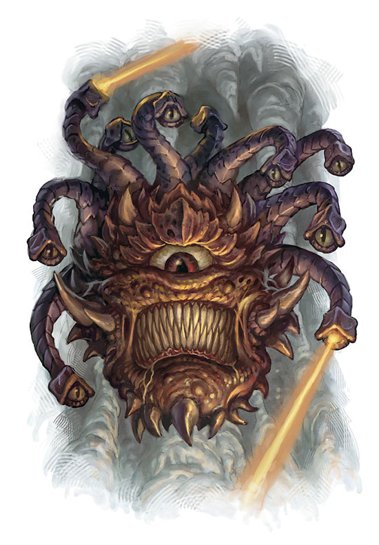 Creatures From Advanced Dungeons And Dragons - 4E Beholder